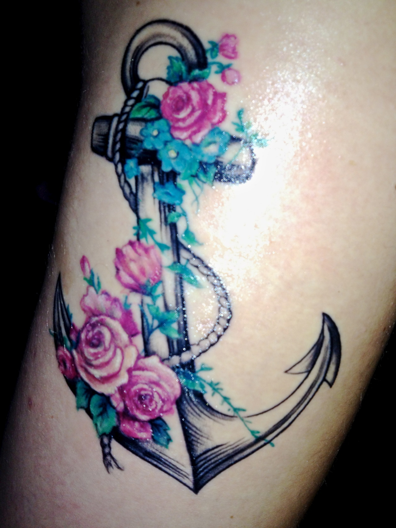 Tattoo Designs Of Anchors