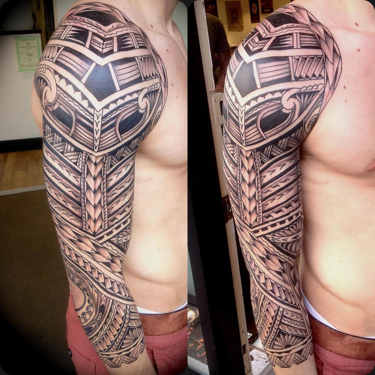 Best Tattoo Sleeve Ideas: Amazing Full Black Sleeve