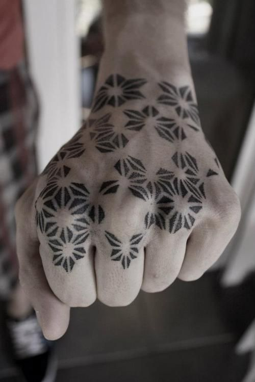 Amazing Hand Dot Work