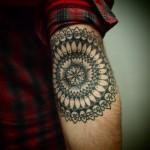 Arm Mandala tat