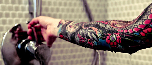 Beautifuly Coloured Arm