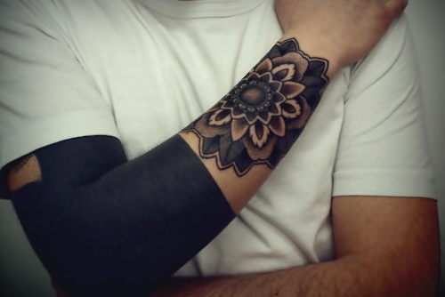 Blacked Out Tattoos: Blackout Tattoo On Pinterest