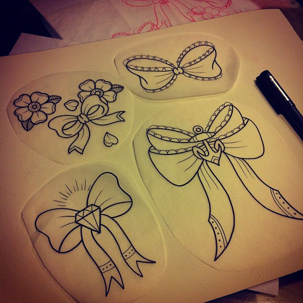 Bows Sketches