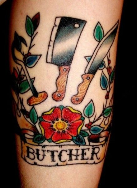 Butcher Tattoo