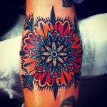Colorful Mandala Tat