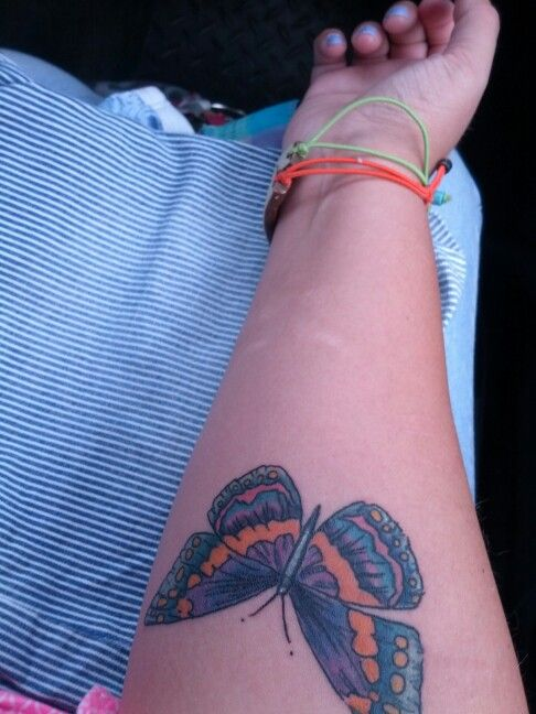 Cute ButerFly Tat