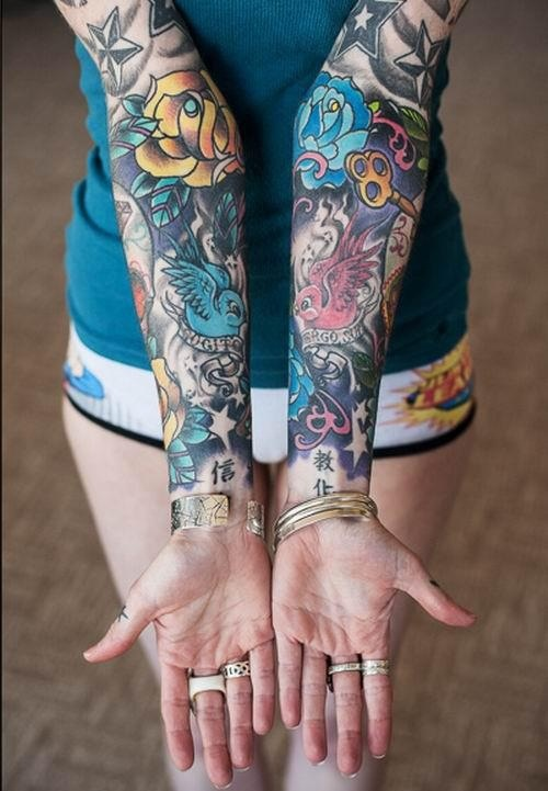 nice lady tattoo best tattoo design ideas. Black Bedroom Furniture Sets. Home Design Ideas