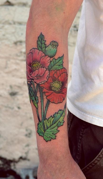 Poppies | Best tattoo design ideas