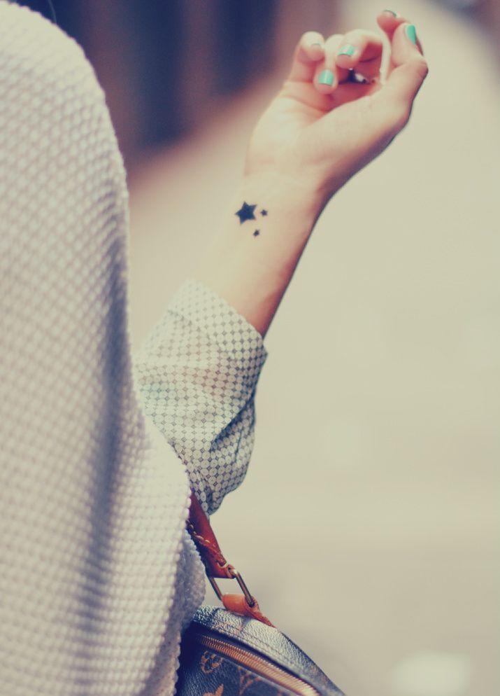 Tattoo ideas wrist tattoo stars tattoo tattoo pattern for Tiny star tattoos