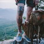 Tattoos. View. Vans. Backpack.