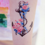 Wonderful Anchor Tattoo