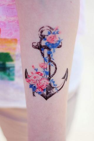 Wonderful Anchor Tattoo