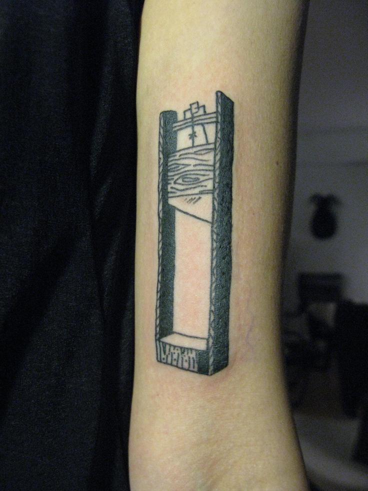 guillotine tat