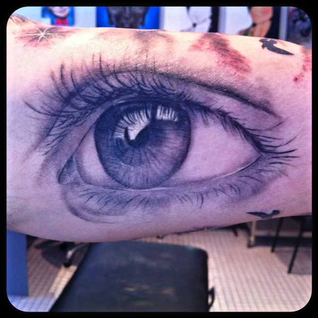 Absolutely Fantastic 3D Eye Tat