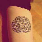 Etnic Pattern Tattoo