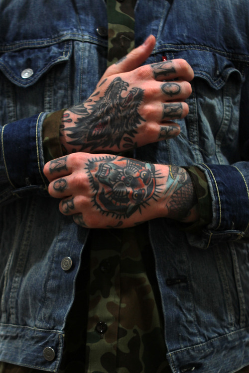 Guy's Hands Tattoos