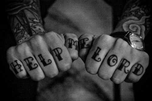 Help Me Lord