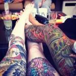 Nice Inked Legz