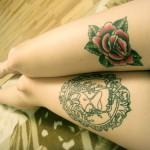 Rose & Hourglass