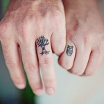 Tiny Fingers Tattoos