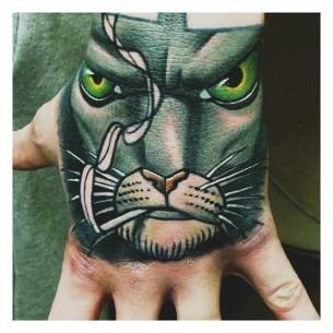 Badass Cat