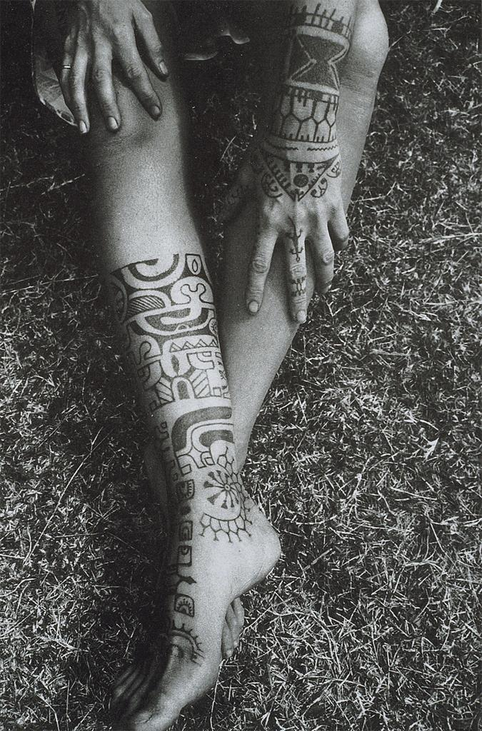 Beautiful Black Pattern Ink