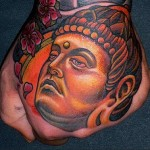 Buddha On Hand