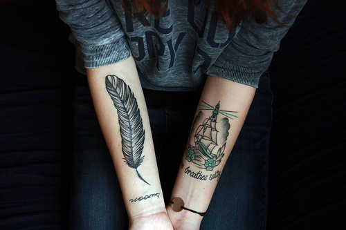 Feather & Ship