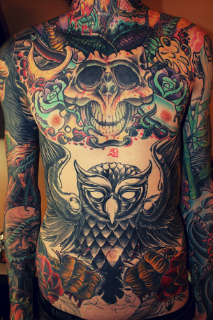 Full Front Tattoo
