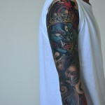 Full Japanese Style Sleeve Ink
