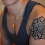 Nice Black Mandala Sleeve