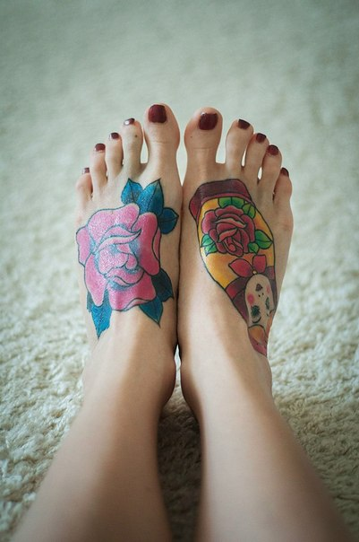 08a86d02e8398 Tattooed Feet | Best tattoo design ideas