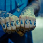 True Love Fingers Tat