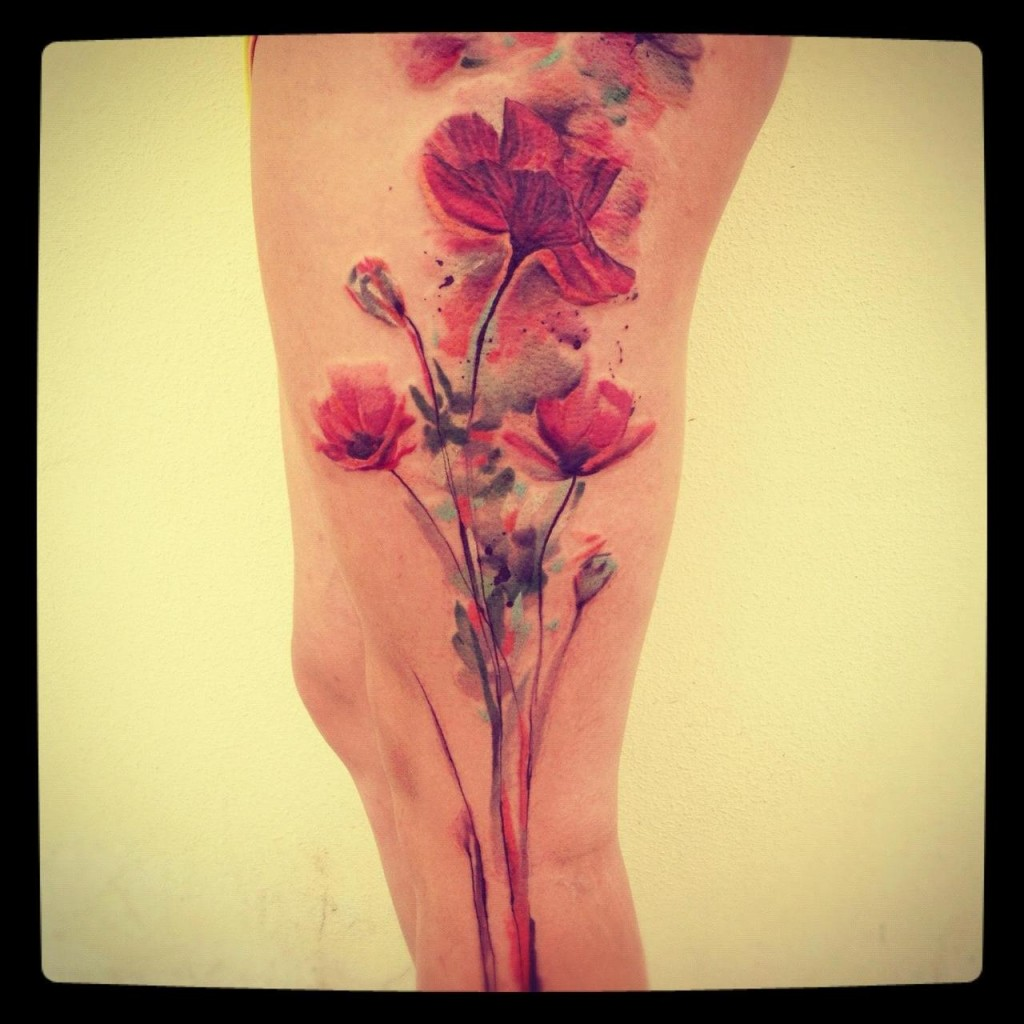 Watercolor Tattoos, Abstract Watercolor And