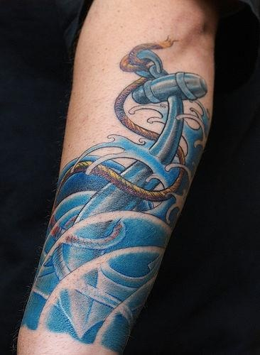 Anchor In The Ocean