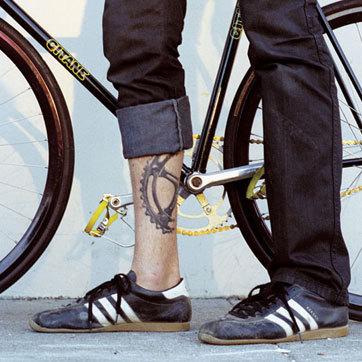 biker's tat
