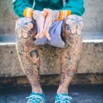 Inked Guy Legs