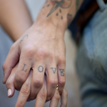 Love Fingers Tat