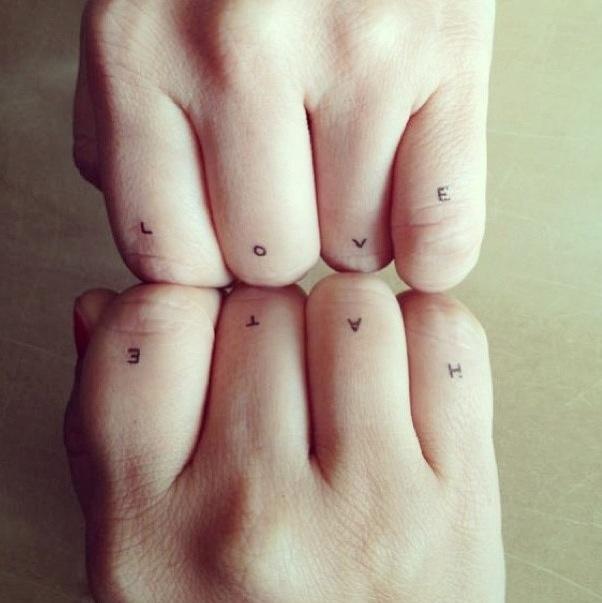 Meer dan 1000 idee n over van gogh tatoeage op pinterest for Love n hate tattoo
