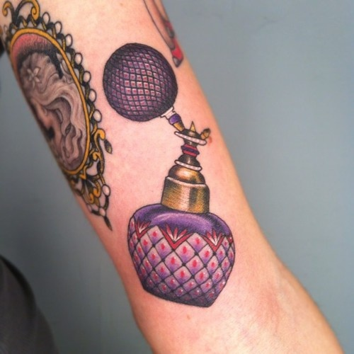 Perfume Bottle Tattoo