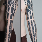 Black Tree Sleeve
