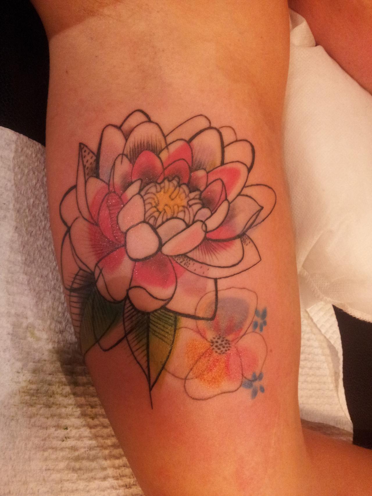 Watercolor Lotus | Best tattoo design ideas