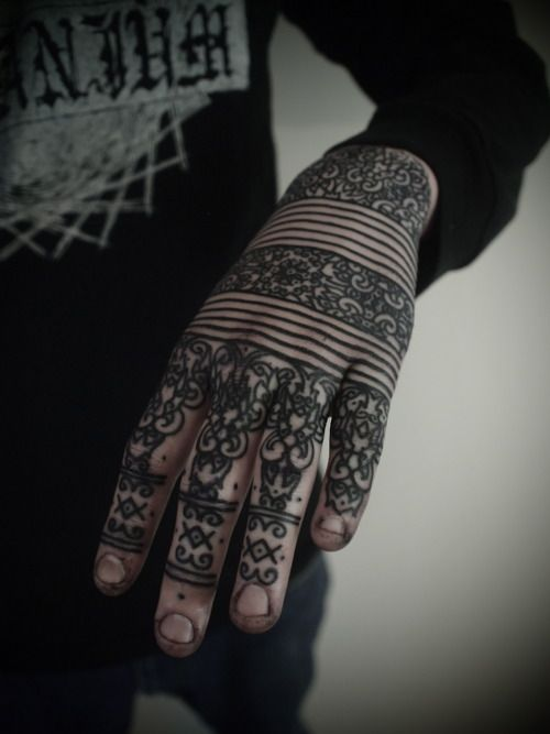 Wonderful Black Hand Ink