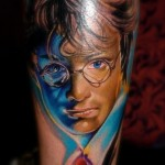 Amazing Harry Potter Tattoo