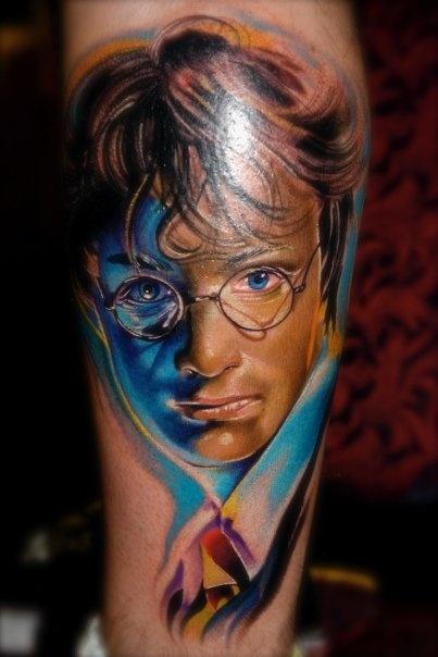 Amazing Harry Potter Tattoo