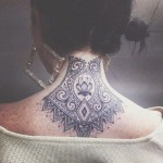 Back Neck Black Ink