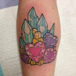 Crystals Tattoo