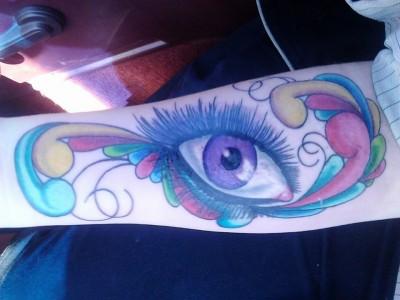 Eye-filigree design
