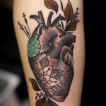 Nice Heart Tattoo