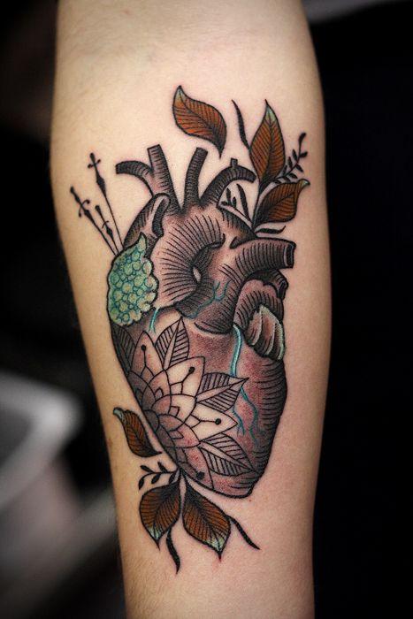 Nice Heart Tattoo